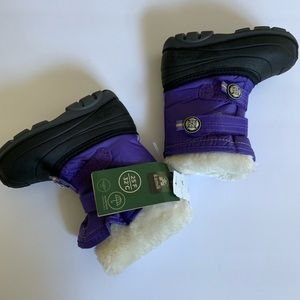 NWT Kamik Snow Boots Toddler Size 9